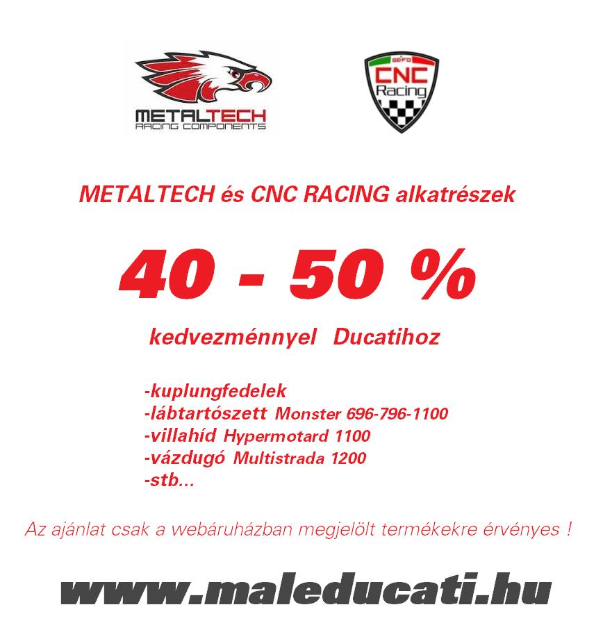 Egy 500 napos motortura 750 - Metaltech S Cnc Racing Akci